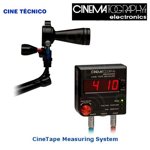 CineTape Measuring System - Cine Tecnico Rental