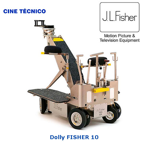 Alquiler Fisher 10 Dolly - Cine Técnico