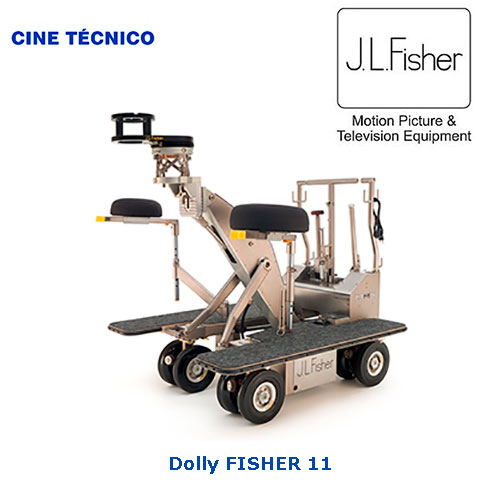 Alquiler Fisher 11 Dolly - Cine Técnico