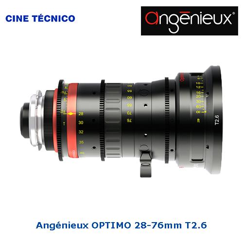 Alquiler Angenieux Optimo Spherical Lens 28‑76 - Cine Técnico