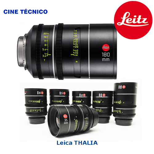 Alquiler ópticas Leitz Thalia - Cine Técnico