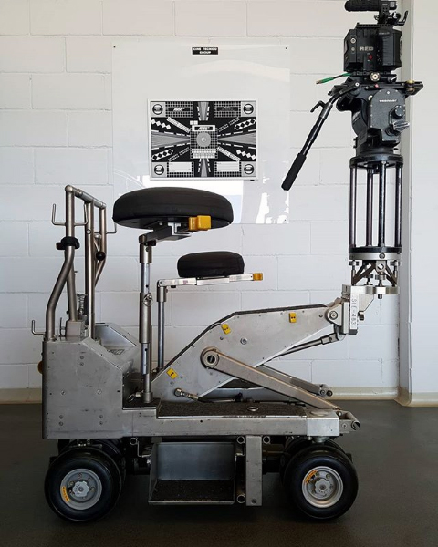 Fisher 11 Dolly Cine Support Barcelona