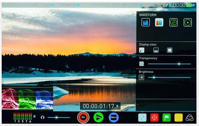 Monitor/Grabador Atomos 7″ Shogun Inferno 4K HDR 60p. .