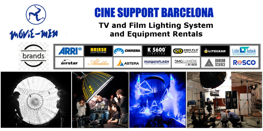 TV and Film Lighting System and Equipment Rentals