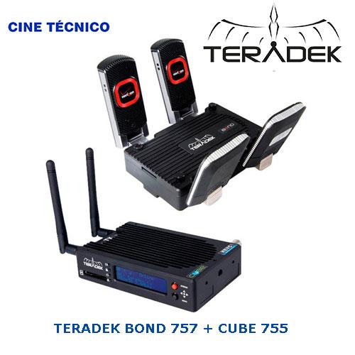 Teradek Bond 757 + Cube 755