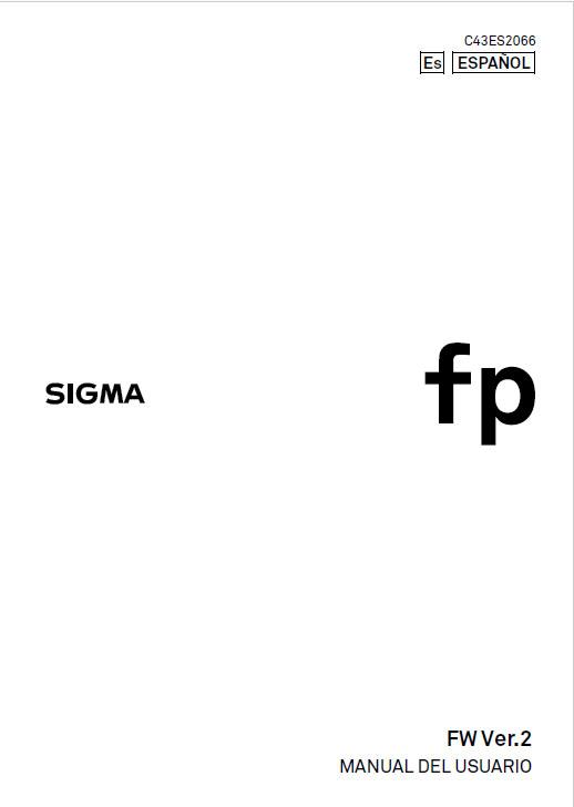 Manual Sigma FP