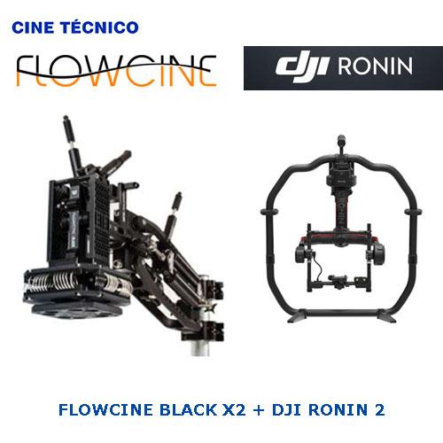 FLOWCINE BLACK Dual + DJI RONIN 2