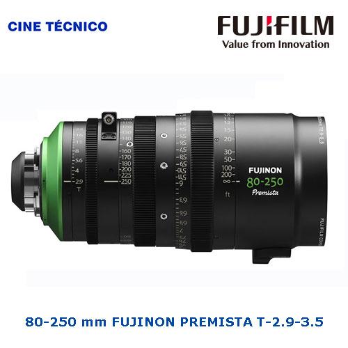 80-250 mm FUJINON PREMISTA T-2.9-3.5 - Alquiler Cine Técnico