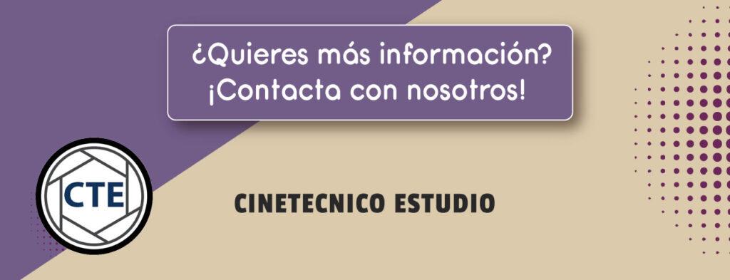 Contacta Master - Curso Especialización Director de Fotografía