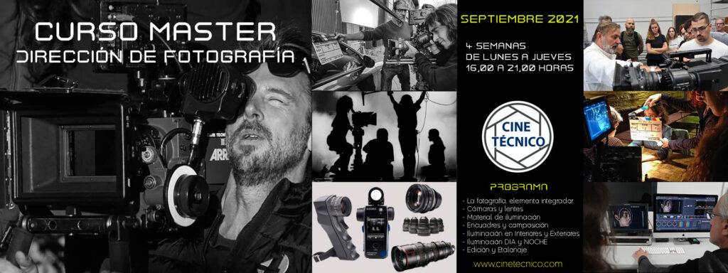 Curso Master de Direccion de Fotografia Cine Técnico