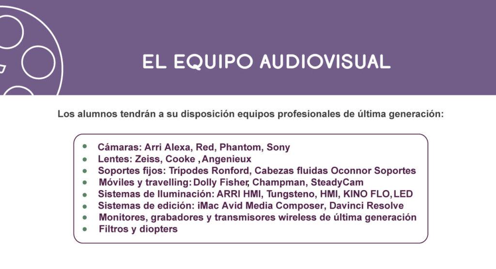 El Equipo Audiovisual