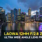 Objetivo LAOWA 12MM F2.8 ZERO-D